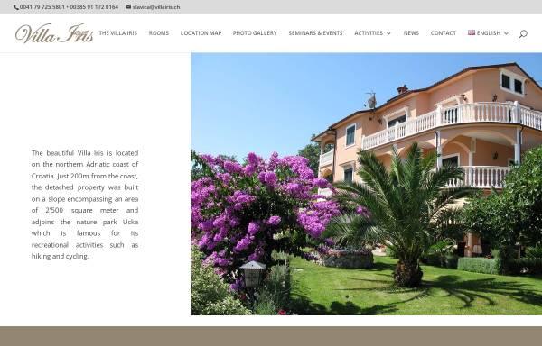 Vorschau von www.villairis.ch, Villa Iris