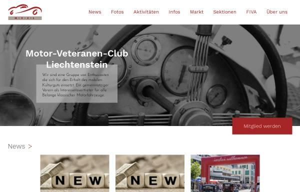Vorschau von www.mvcl.li, MVCL, Motor-Veteranen-Club Liechtenstein