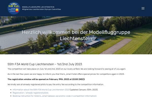 Vorschau von www.mfgl.li, MFGL Modellfluggruppe Liechtenstein