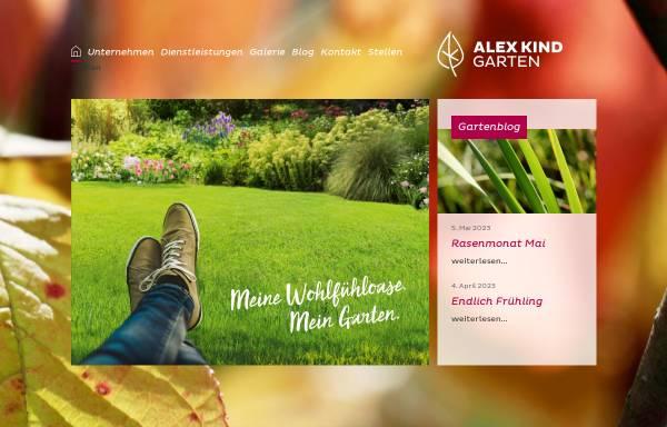 Vorschau von www.alexkind.li, Alex Kind Gartengestaltung