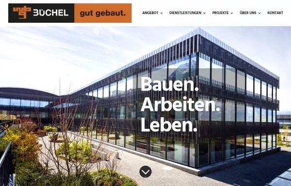 Vorschau von www.buechel-bau.com, Wilhelm Büchel AG