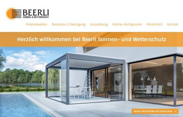 Vorschau von www.beerli.li, Beerli Storen GmbH