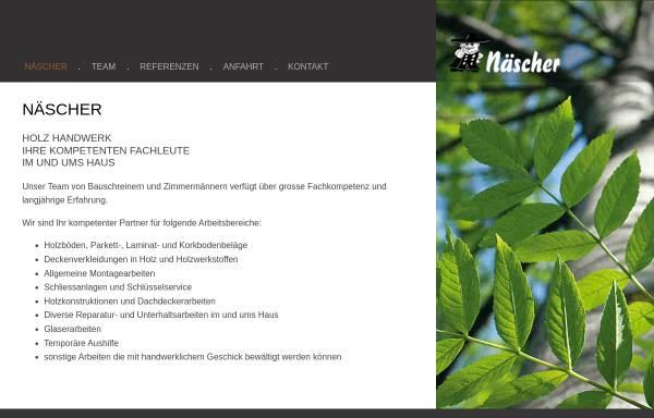 Vorschau von www.naescher.li, Näscher Allroundservice & Innenausbau Est.
