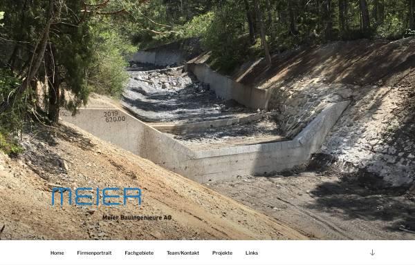 Vorschau von www.ing-meier.li, Meier Bauingenieure AG