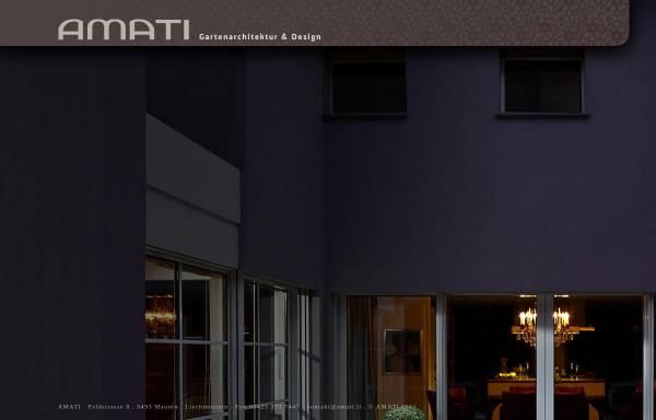 Vorschau Von Www.amati.li, AMATI   Gartenarchitektur Und Design ...