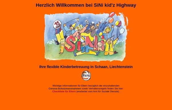 Vorschau von www.sini.li, SiNi kid'z Highway