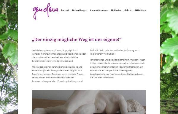Vorschau von www.genofeva.li, Genofeva - Astrid Walser