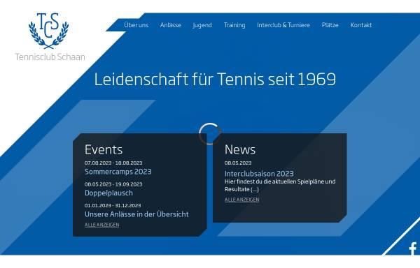 Vorschau von www.tcs.li, Tennisclub Schaan