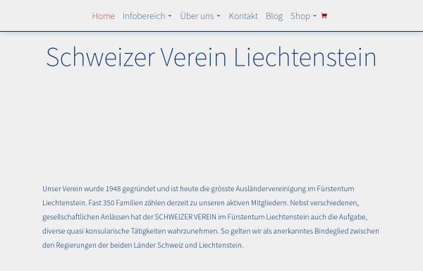 Vorschau von www.schweizer-verein.li, Der Schweizer Verein in Liechtenstein