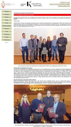 Vorschau der mobilen Webseite www.flsb.li, Fürstlich Liechtensteinischer Sängerbund