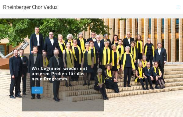 Vorschau von www.rheinbergerchor.li, Josef Gabriel Rheinberger Chor