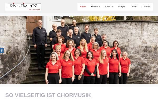 Vorschau von www.divertimento.li, Chor Divertimento