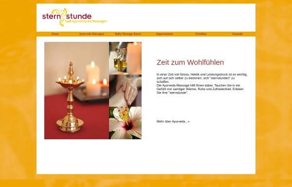 Vorschau von www.sternstunde-ayurveda.de, Sternstunde