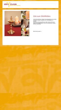 Vorschau der mobilen Webseite www.sternstunde-ayurveda.de, Sternstunde