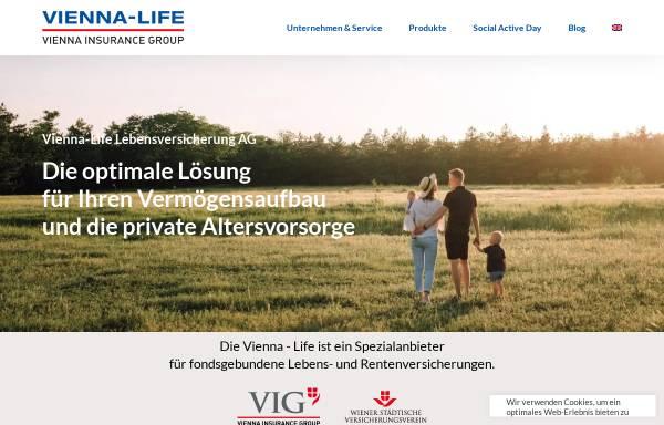 Vorschau von www.vienna-life.li, Vienna-Life Lebensversicherung AG