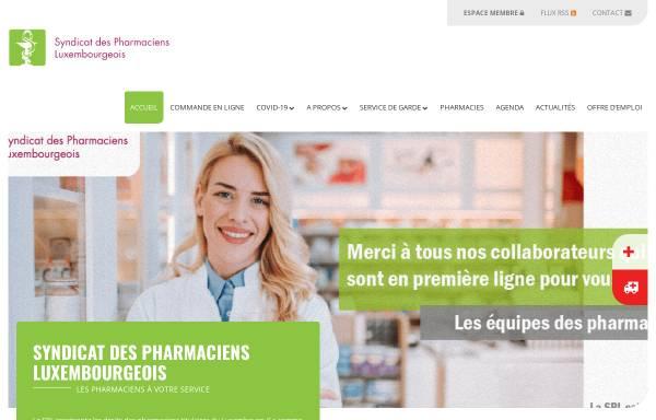 Vorschau von www.pharmacie.lu, Luxemburger Apotheker a.s.b.l.