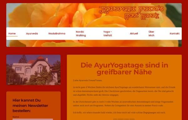 Vorschau von www.ayurveda-klosterneuburg.at, Renate Marik