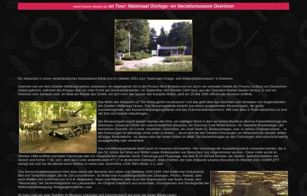 Vorschau von www.panzer-modell.de, Nationales Kriegs- und Widerstandsmuseum