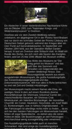 Vorschau der mobilen Webseite www.panzer-modell.de, Nationales Kriegs- und Widerstandsmuseum