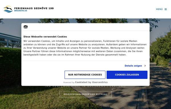 Vorschau von www.breskens.de, Ferienhaus in Breskens