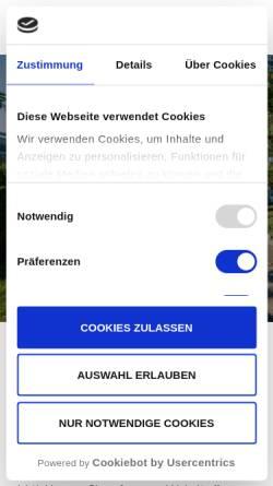 Vorschau der mobilen Webseite www.breskens.de, Ferienhaus in Breskens