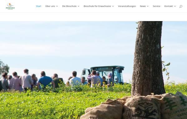 Vorschau von www.bioschule.at, Bioschule Schlägl