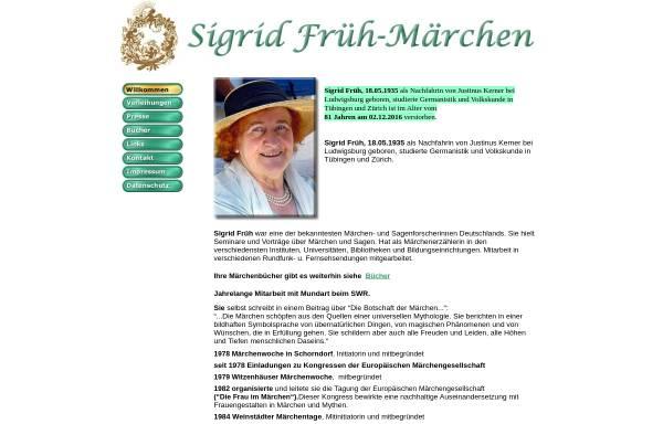 Vorschau von www.sigrid-frueh.de, Sigrid Früh - Märchen