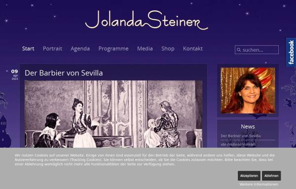 Vorschau von www.jolandasteiner.ch, Steiner, Jolanda