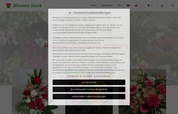 Vorschau von www.blumenstark.at, Blumen Stark