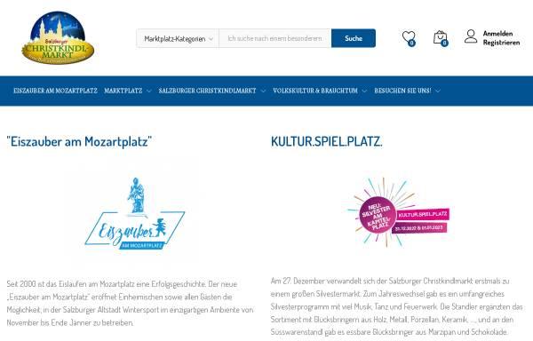 Vorschau von www.christkindlmarkt.co.at, Salzburger Christkindlmarkt