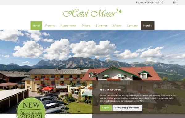 Vorschau von www.pensionmoser.at, Pension Moser