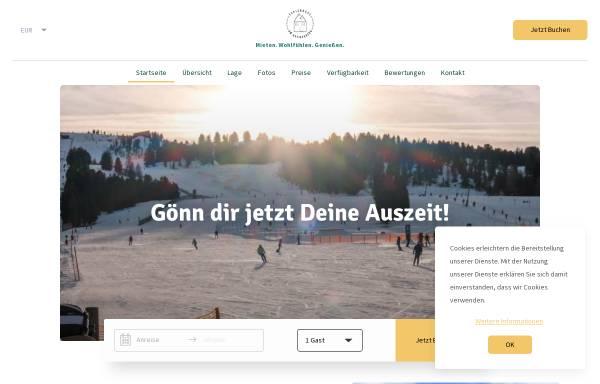 Vorschau von www.ferienhaus-kreischberg.de, Ferienhaus am Kreischberg