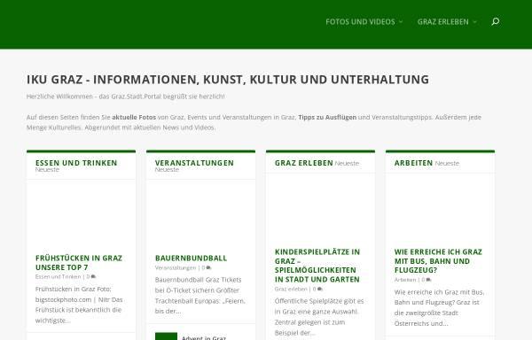 Vorschau von www.iku-graz.at, IKU Graz