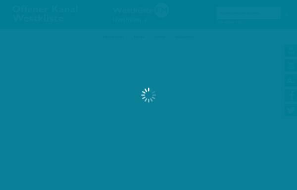 Vorschau von www.okwestkueste.de, Offener Kanal Westküste