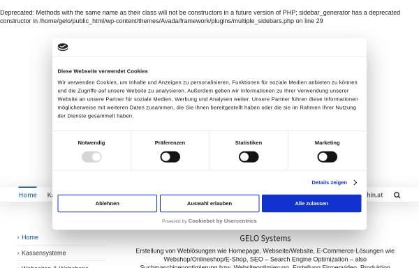 Vorschau von www.gelo.at, Gelo Systems