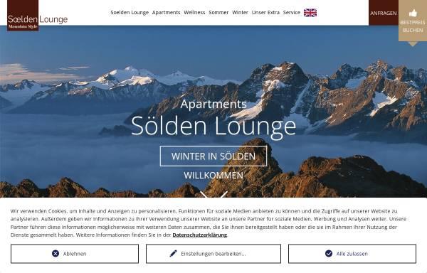Vorschau von www.soelden-lounge.at, Apartment Sölden Lounge