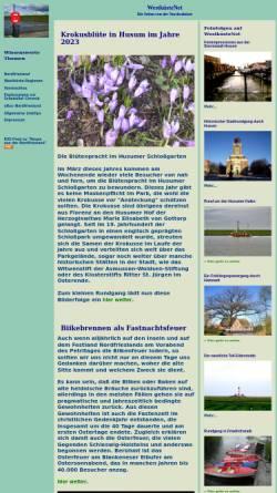 Vorschau der mobilen Webseite www.westkuestenet.de, WestküsteNet - Startseite