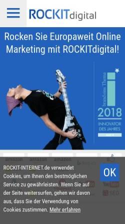 Vorschau der mobilen Webseite www.onmarketing.de, OnMarketing