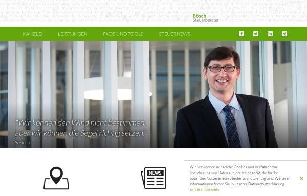 Vorschau von www.stb-boesch.at, Bösch Steuerberater, Mag. Martin Bösch