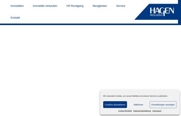 Vorschau von www.realbuerohagen.at, Hagen Realbüro