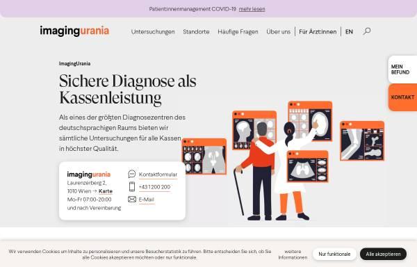 Vorschau von www.dzu.at, Diagnosezentrum Urania, 1010 Wien