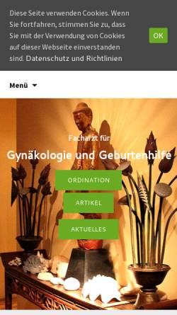 Vorschau der mobilen Webseite www.markus-metka.at, Prof. Dr. Markus Metka