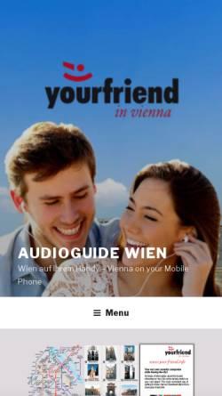 Vorschau der mobilen Webseite www.your-friend.info, Your Friend