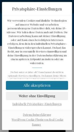 Vorschau der mobilen Webseite www.tauchmagazin.com, Tauchmagazin.com