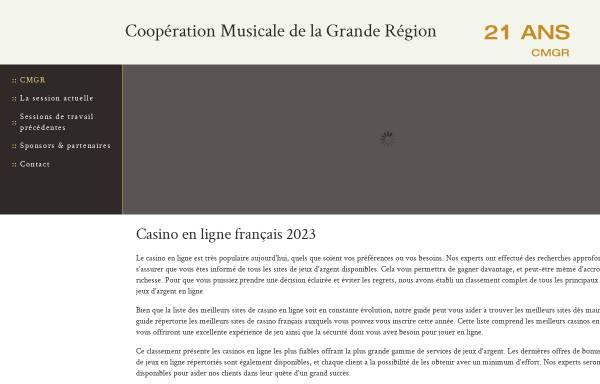 Vorschau von cmgr.eu, Conservatoire de Musique Esch-sur-Alzette
