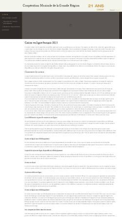 Vorschau der mobilen Webseite cmgr.eu, Conservatoire de Musique Esch-sur-Alzette