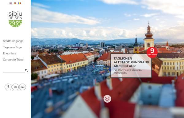 Vorschau von www.sibiureisen.ro, Sibiu Reisen S.R.L.