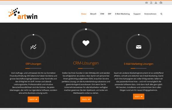 Vorschau von www.artwin.ch, Artwin AG