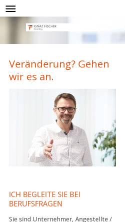 Vorschau der mobilen Webseite www.ifservices.ch, IF Services GmbH