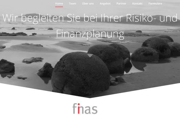 Vorschau von www.finas.ch, FINAS Broker AG